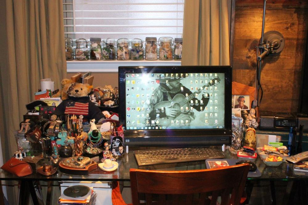 My Desk as it Usually Is