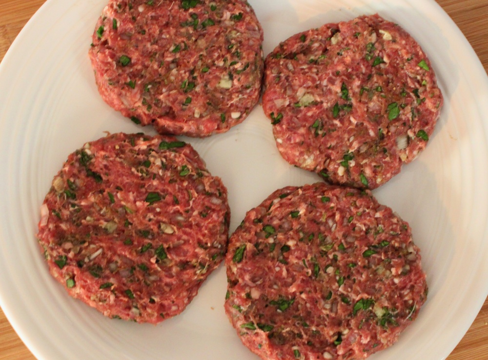The Formed Lamb Burger Patties