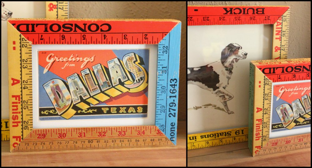 Yardstick Picture Frame Collage