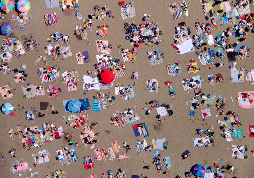 Baker Beach by Gray Malin
