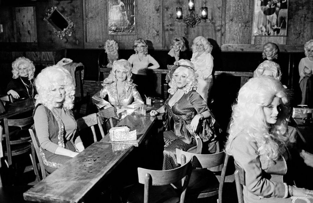 USA. ARIZONA. Phoenix. Dolly Parton look-alike contest. 1979.