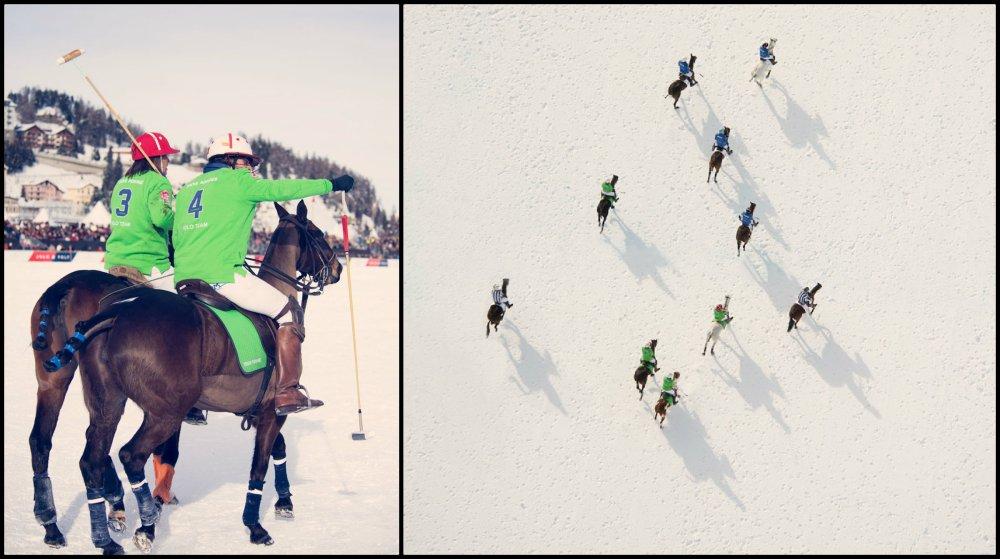 Gray Malin Winter Polo Collage