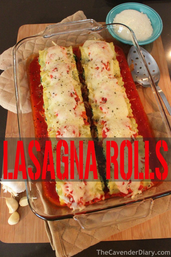 Lasagna Rolls from the Cavender Diary Boys
