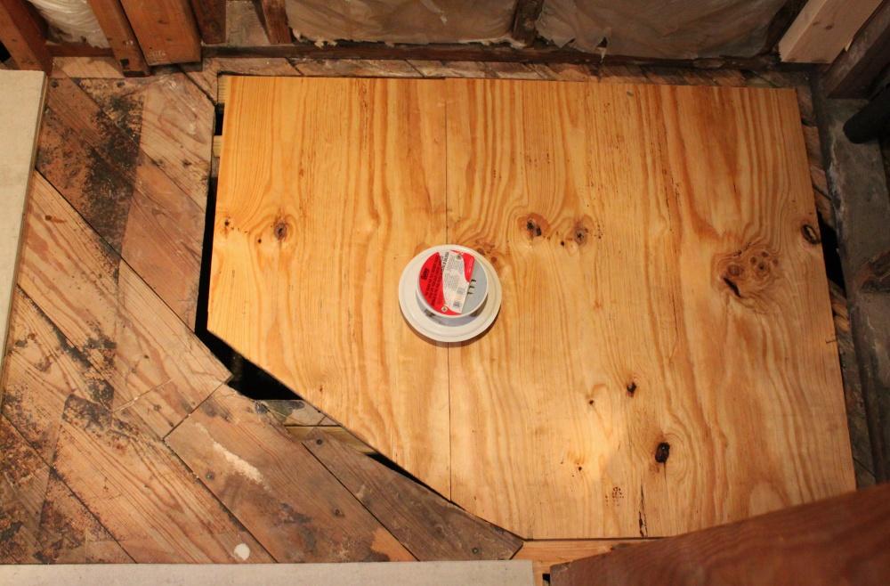 My Perfect Reverse Nevada Shaped Plywood Subfloor