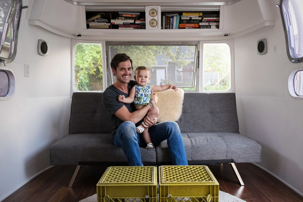 Our Airstream Owner and His Adorable Daughter