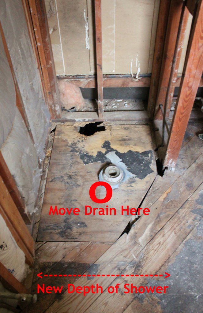 Replace the Shower Drain and Center the New One