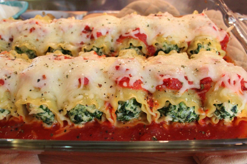 So Easy Lasagna Rolls from the Cavender Diary Boys