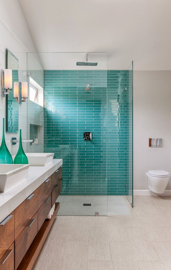 Turquoise Bathrooms…To Persuade You | THE CAVENDER DIARY
