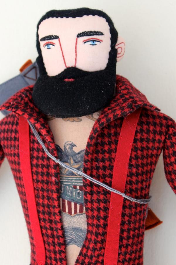 Mimi Kirchner Lumberjack Doll