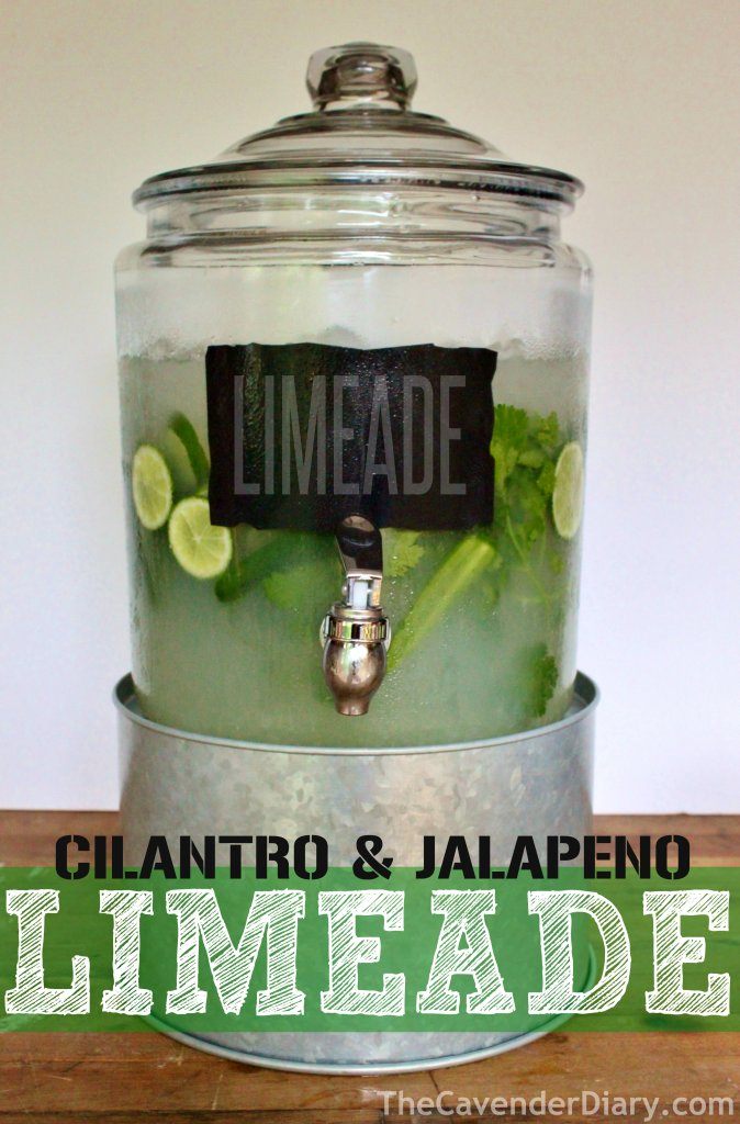 Cilantro Jalapeno Lime-Aid from the Cavender Diary Boys