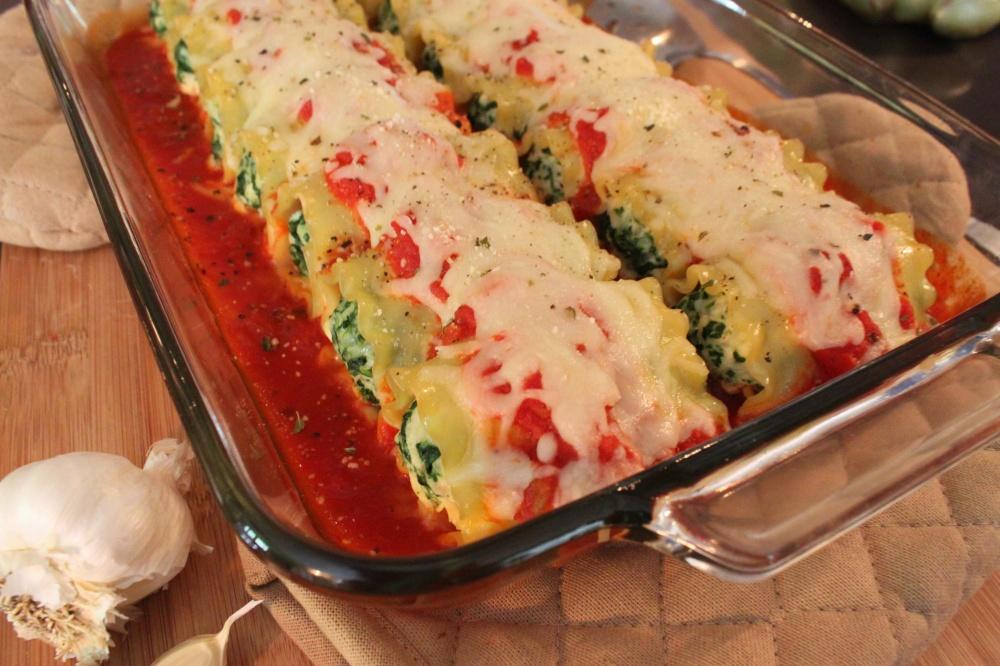 Baked Lasagna Rolls