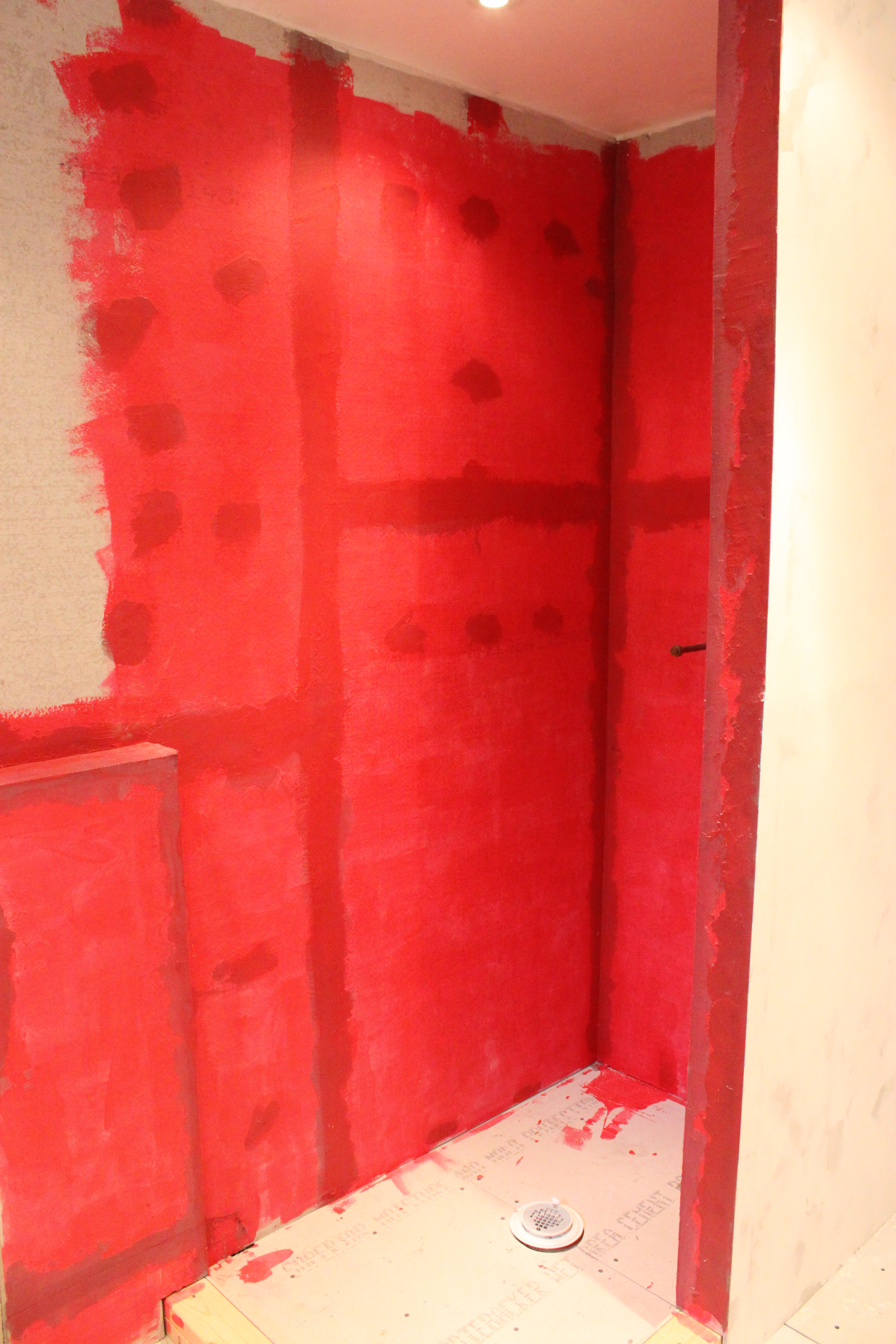Red Guard Waterproofing The Cavender Diary