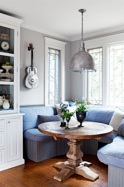 The Breakfast Nook in Maike Wolfe's Home