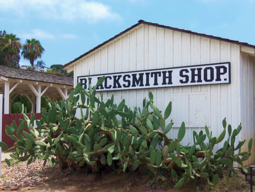 The Blacksmith Shop in Old Town San Diego