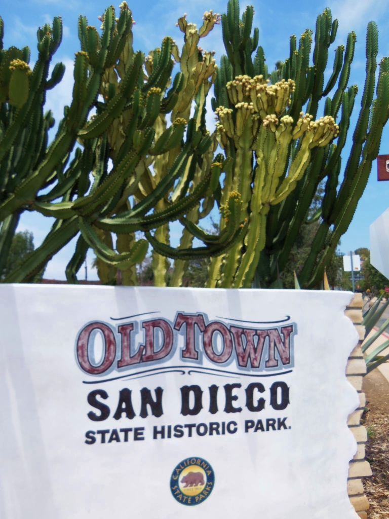 The Entrance to Old Town San Diego