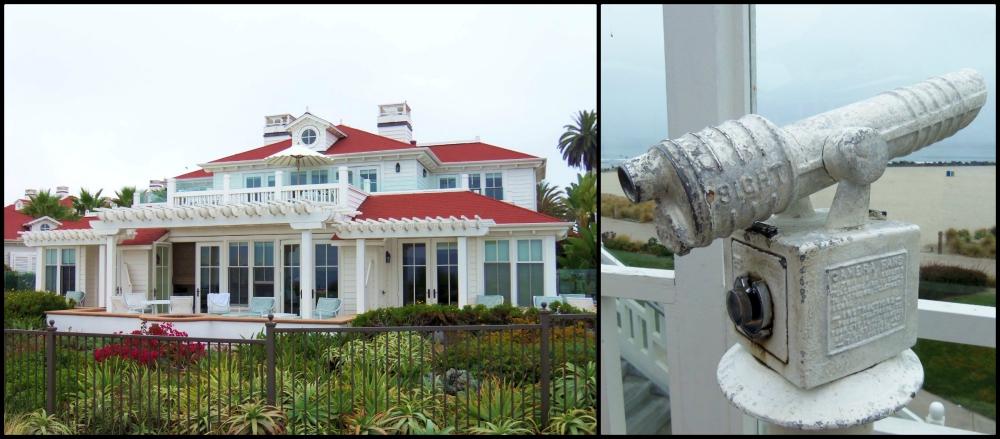 Hotel Del Coronado Bungalo Collage