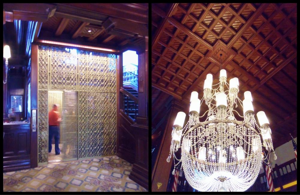 Hotel Del Coronado Lobby Collage