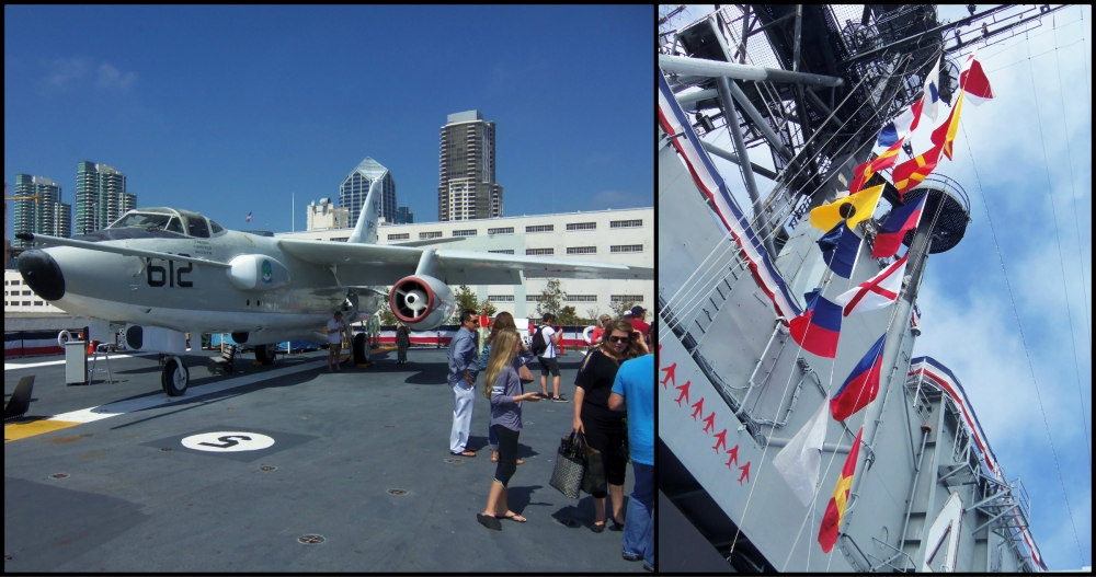 USS Midway Museum Collage