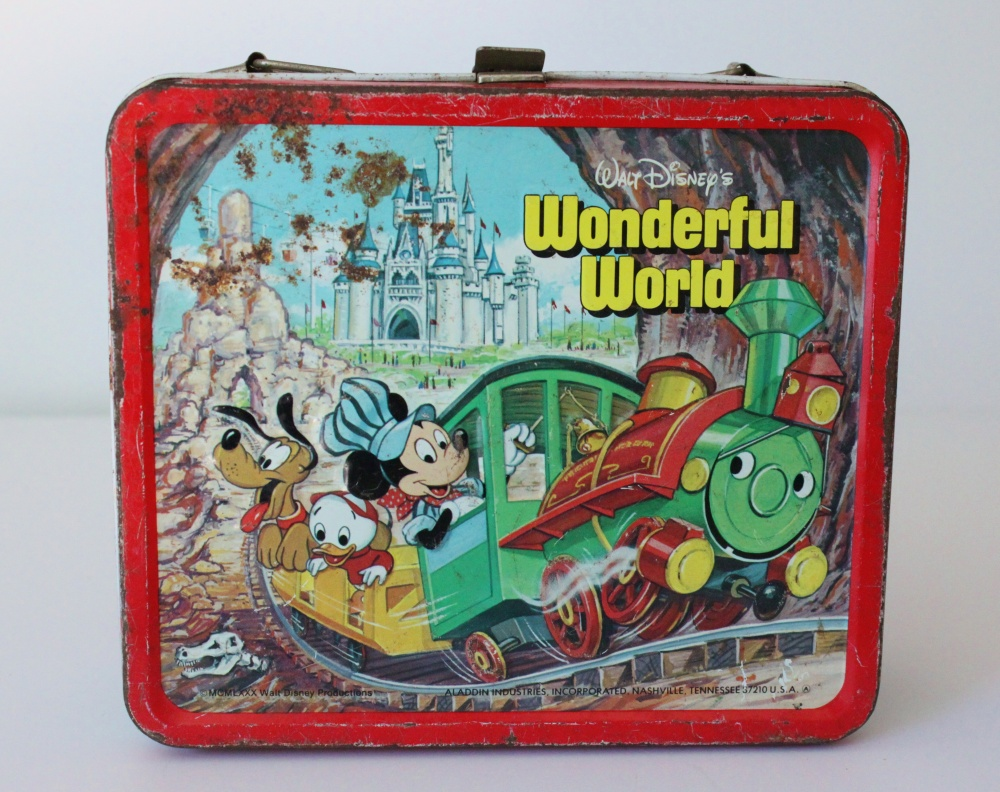 Wonderful World of Disney Lunchbox
