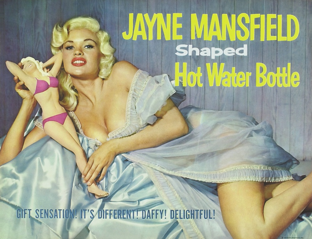 Jayne Mansfield Water Bottle Add