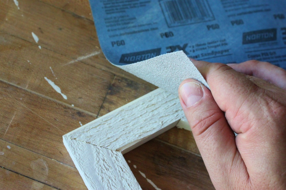 Use a Rougher Paper for the Wood