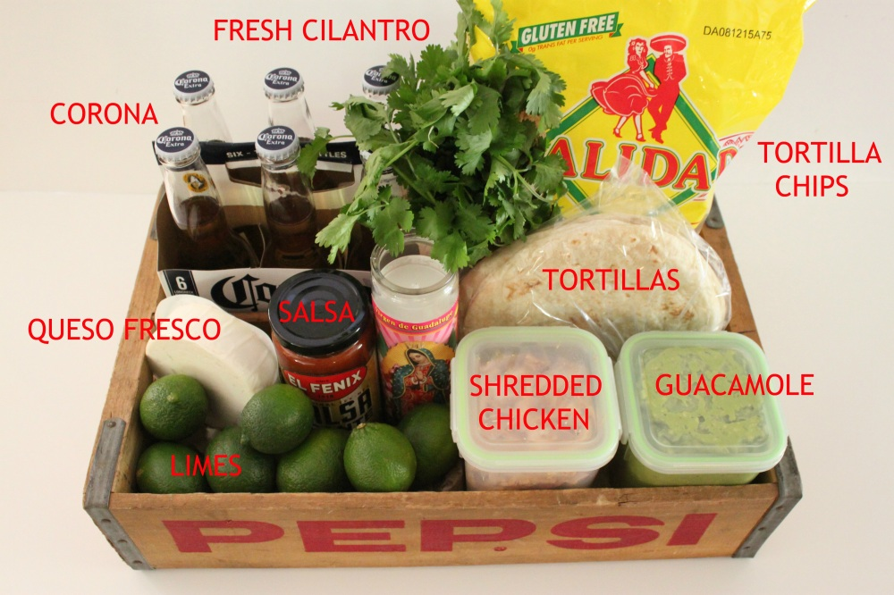 All the Ingredients for a Taco Night Box