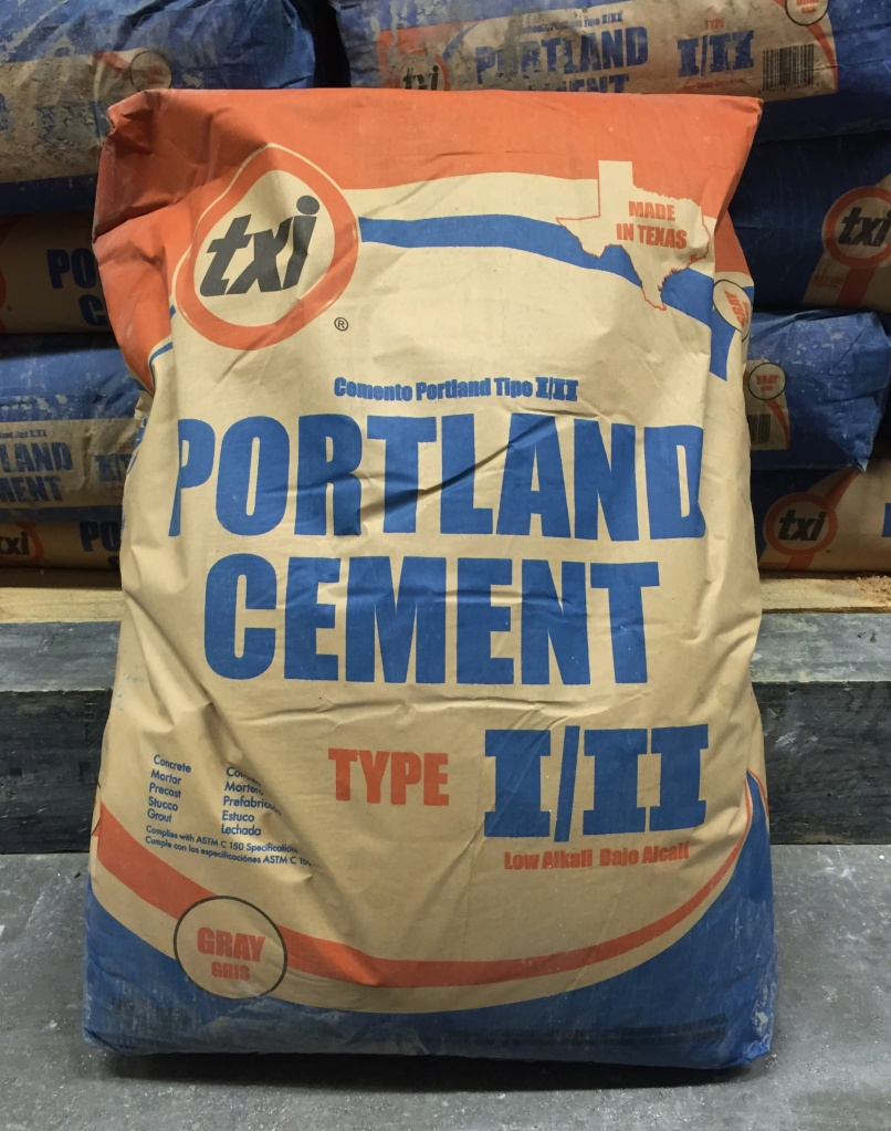 Bag of Portland Cement Mix