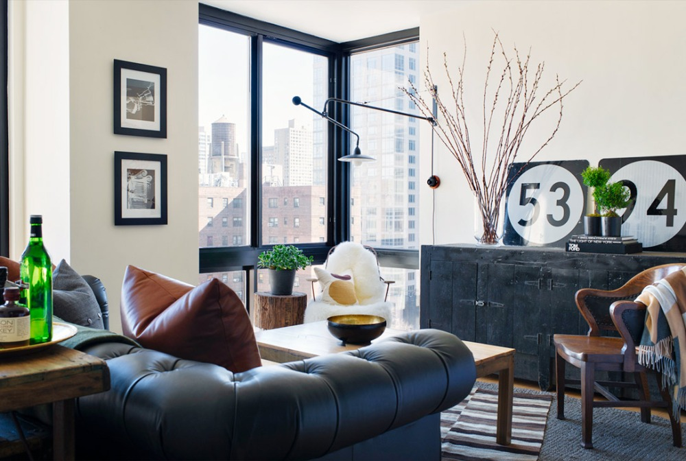 Ronan Farrow's Living Room 1