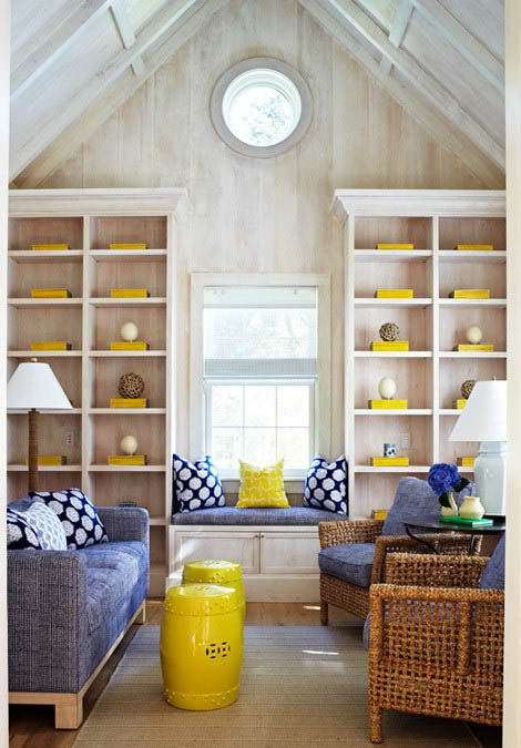 Shots of Yellow in a Neutral Room