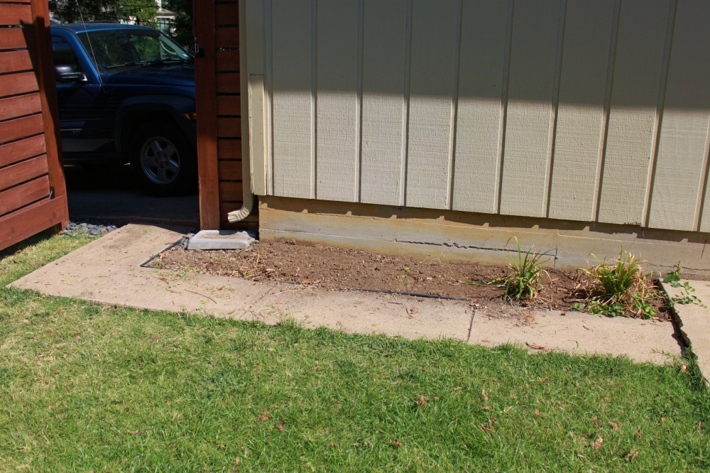 That Backyard Sidewalk That Has to Go