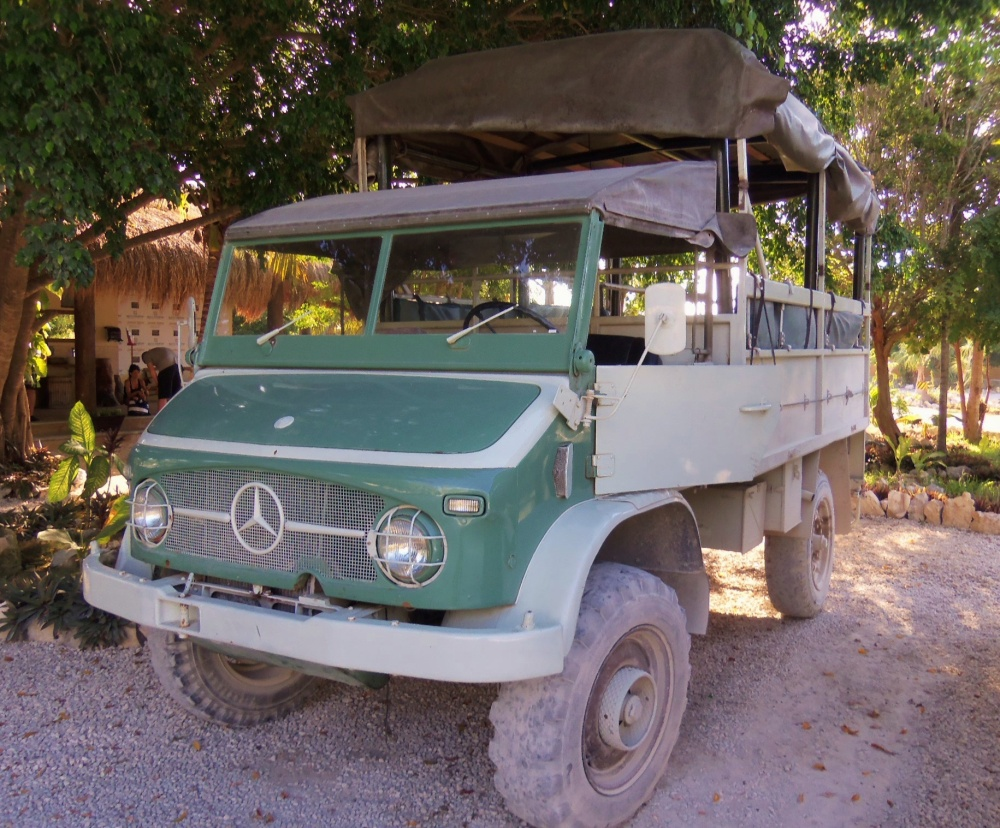 Jungla Truck for our Mayan Adventure