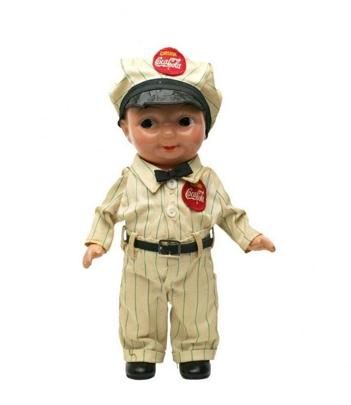 Buddy Lee Doll in Coca Cola Uniform