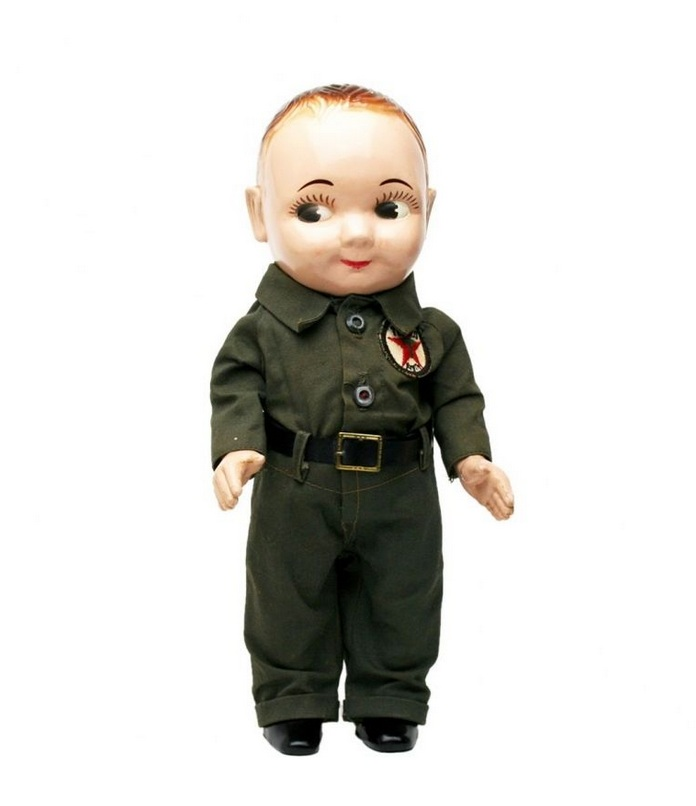 Buddy Lee Doll in Texaco Uniform