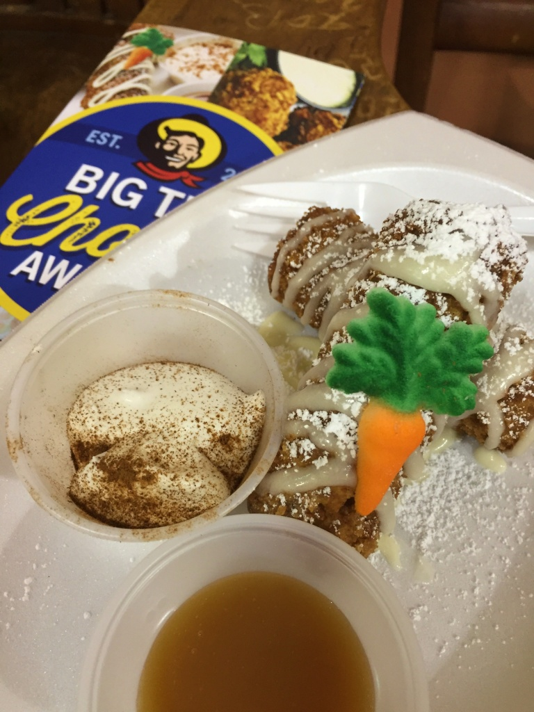 Fernie's Holy Moly Carrot Cake Roly