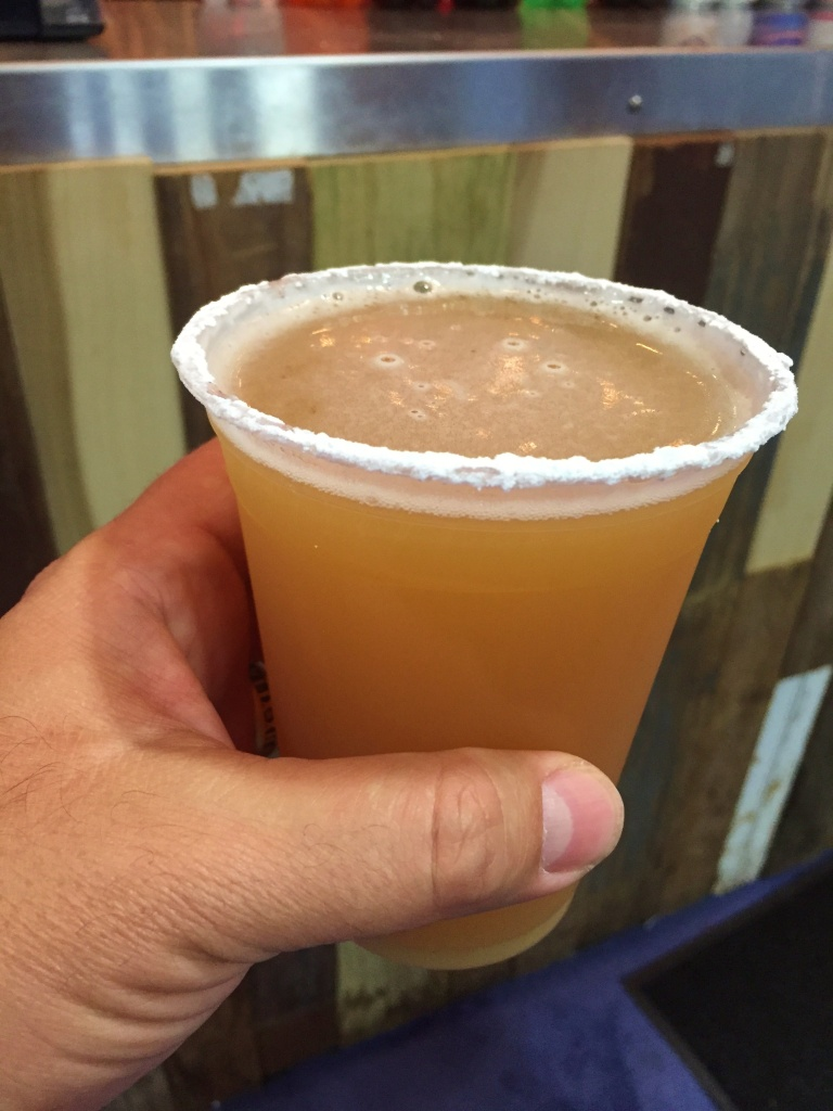 Funnel Cake Ale in Hand
