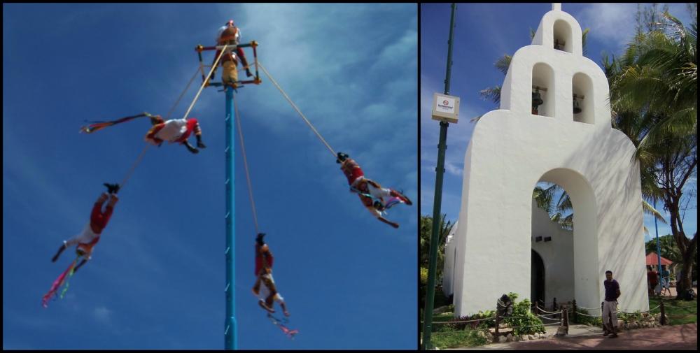 Streets of Playa del Carmen Collage 1