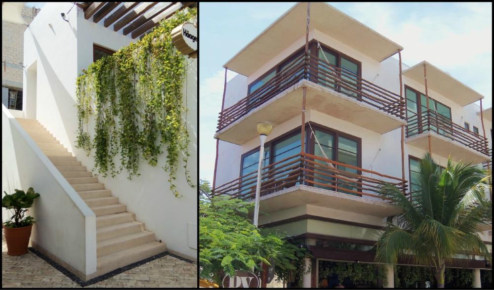 Streets of Playa del Carmen Collage