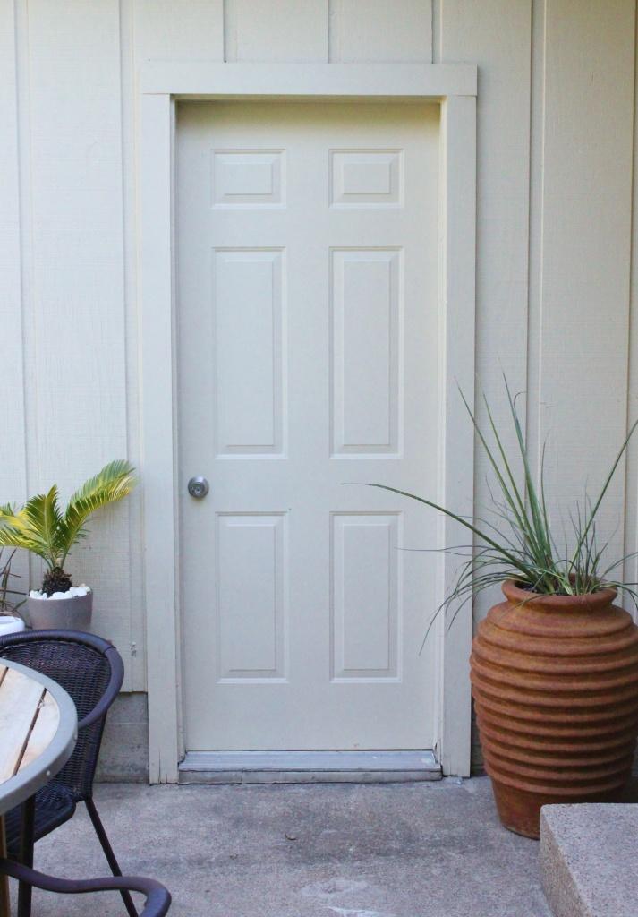 The Unused Door to the Garage