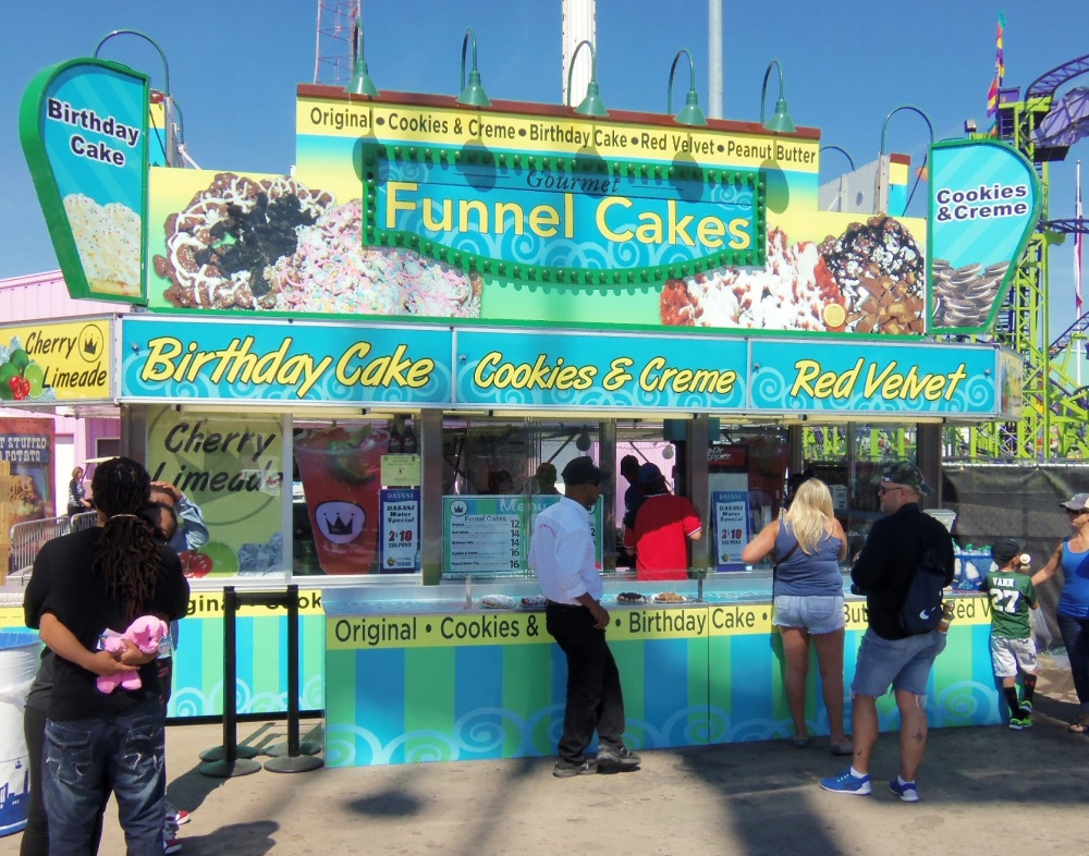 Gourmet Funnel Cake Booth