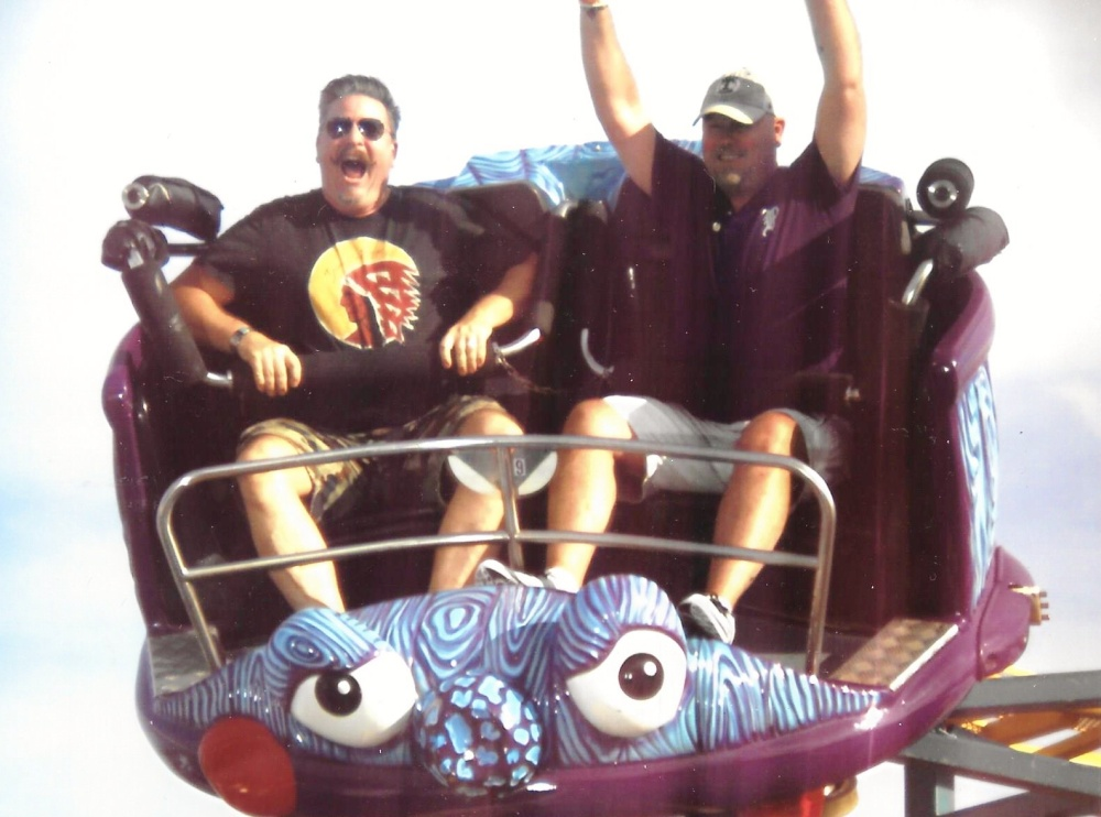 Crazy Mouse at the State Fair of Texas 2014