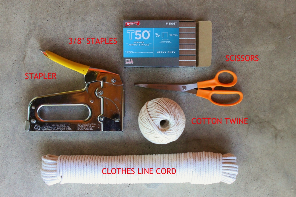 Everything You Need to Make a Big-Ass Spider Web