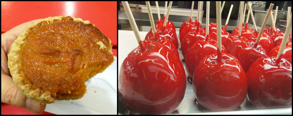 Sweet Potato Pie and Candied Apples