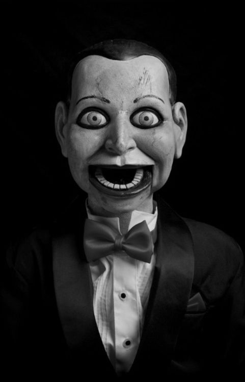 Ventriloquist Dummy with Mouth Gaping Open