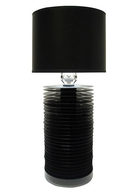 Reclaimed Record Lamp from Uncommon Goods