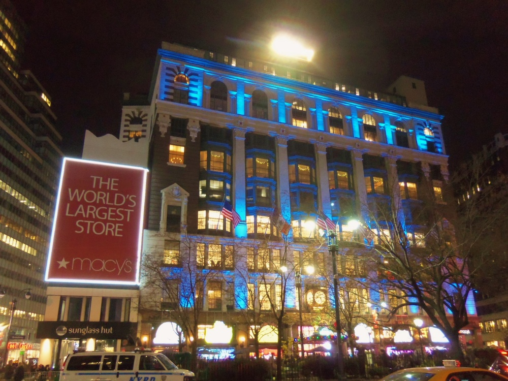 Macy's on 34th st in New York
