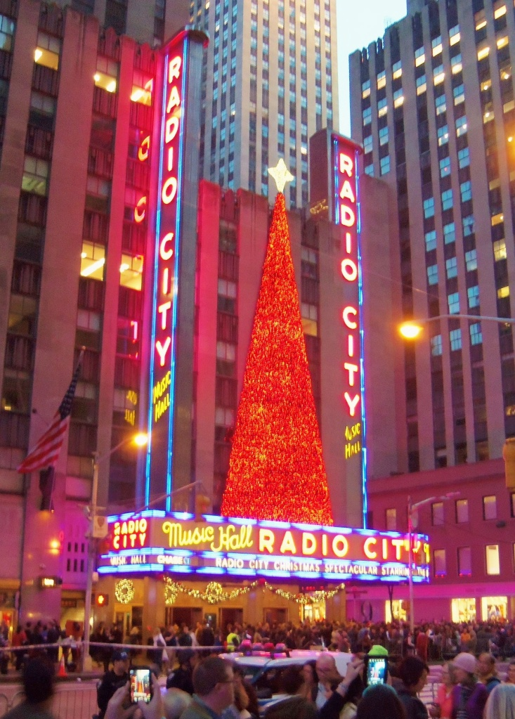Radio City Music Hll n the December Night