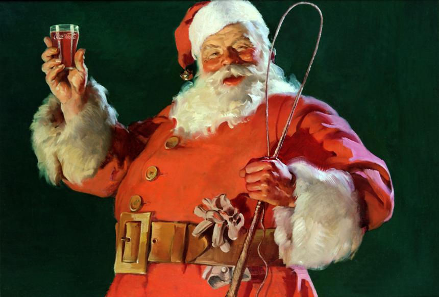 Sundblom Coca-Cola Santa