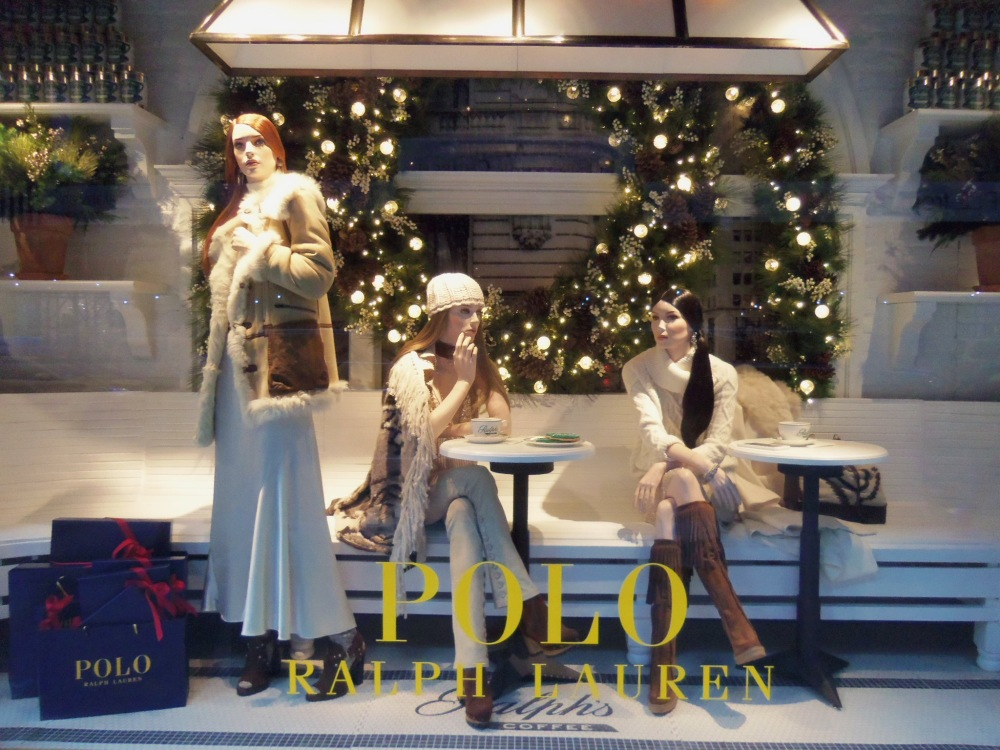The Ralph's Coffee Shop Themed Window at the Polo Store on 5th Ave