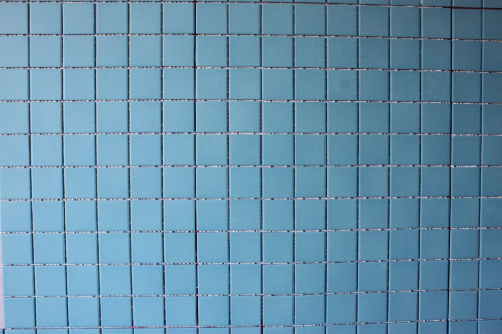 So Beautiful Turquoise Tile in the Cavender MAster Bathroom
