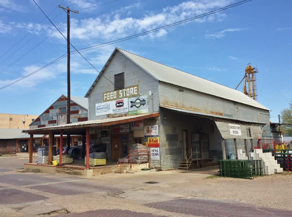 Boyce Feed Store in Waxahachie